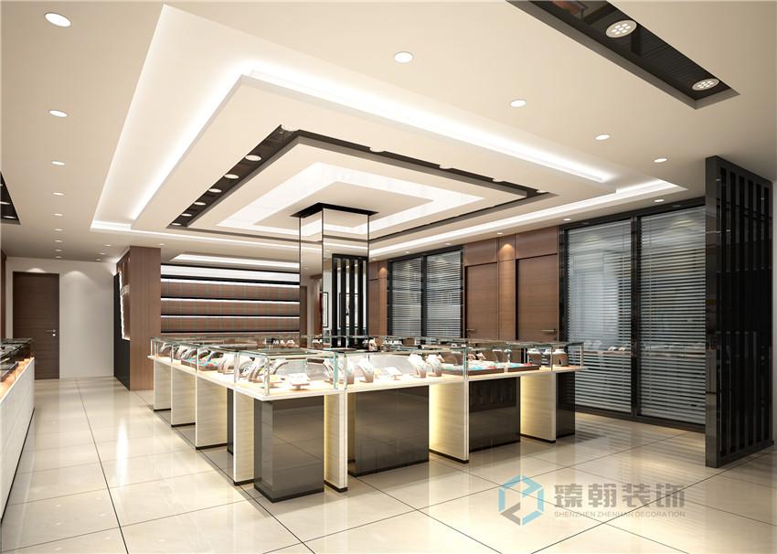珠宝店空间装修设计基本的要素